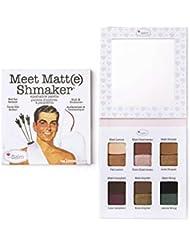 theBalm Meet Matt(e) Shmaker Lidschatten-Palette,1er Pack (1 x 9.6 g)
