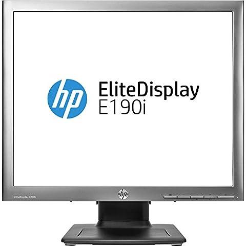 HP E190I E4U30AT 49,78 cm (18,9 Zoll) Monitor (VGA, USB, 8ms Reaktionszeit, 1280 x 1024) Silber