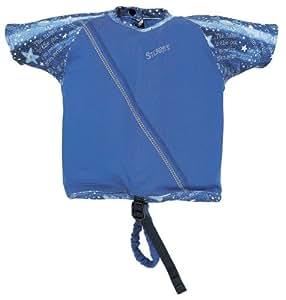 La chemise de natation de Stearns enfants (bleu, de poids 30-50 Lbs)
