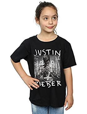 [Sponsorizzato]Justin Bieber Bambine e Ragazze Purpose Album Cover Maglietta