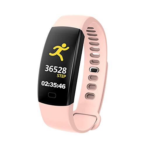 BHYDRY Intelligenter Farbbildschirm Blutdruck-Trainings-Herzfrequenz-Schrittzähler Smart Watch(1*pc,Beige)