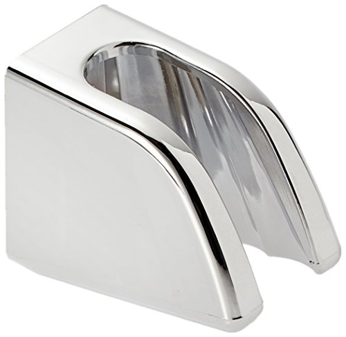 Cornat Brause-Wandhalter oval chrom / Duschkopfhalter / Halterung Handbrause / Badezimmer / TECB3383 - Handbrause-ersatz-halterung