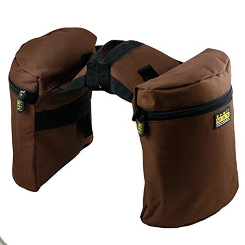 2c1c07bb85c Trailmax Original - Alforjas para silla con cuerno - Equipaje para silla  vaquera de cowboy -