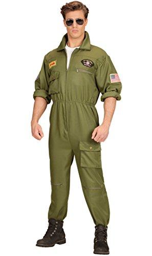 Kostüm Fighter Pilot - Widmann-WDM65533 Erwachsenenkostüm für Herren, mehrfarbig, WDM65533
