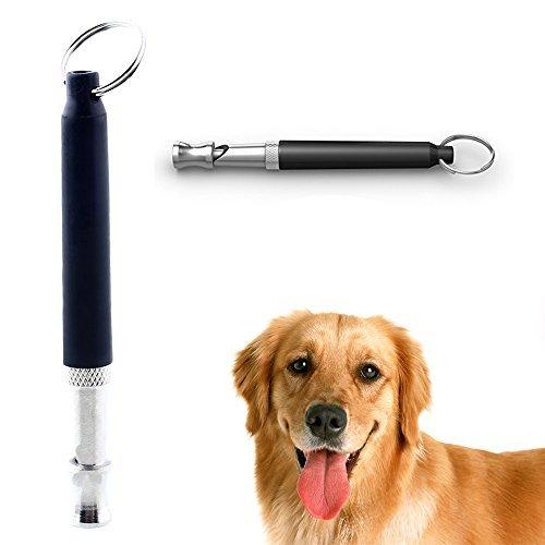UNM Hundepfeife für Hunde Training & Bellen Kontrolle–GRATIS Premium Qualität Lanyard–Fantastische Hund Whistle in Kleinen Größe und leicht mit Ultrasonic-Frequenz