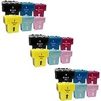 Prestige Cartridge 18 x HP 363 Cartucce d'Inchiostro Compatibile per Stampanti HP Photosmart Serie, Nero/Ciano/Magenta/Giallo/Ciano Chiaro/Magenta Chiaro