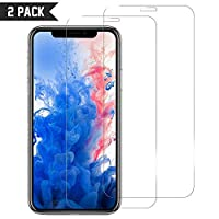iPhone 11 Pro Tempered Glass Screen Protector [2 Pack] Easy Installation, 9H Scratch Resistance, Anti Bubble, CORN Protective Film Cover for Apple iPhone 11Pro 2019 5.8""