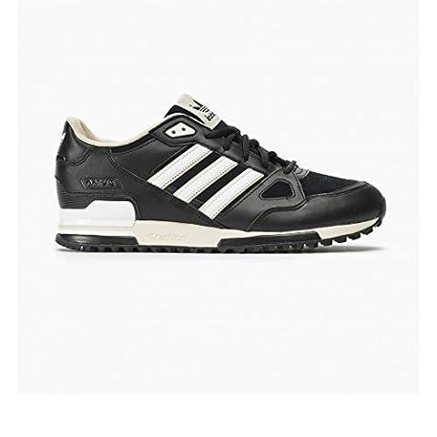adidas ZX 750, Herren Sneakers , Multicolor - Schwarz / Weiß / Beige - Größe: 36 2/3