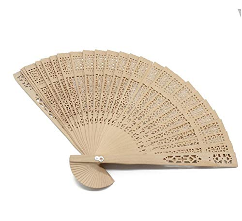 Gift Personalized Engraved Wood Folding Hand Fan Wooden Fold Fans Customized Wedding Party Decor Favors Organza Bag B