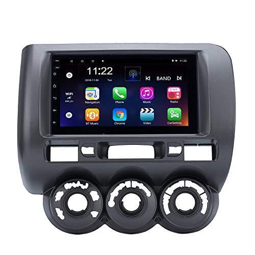Sistema de navegación GPS para Honda Jazz(AC Manual, RHD) 2002-2008 con Radio...
