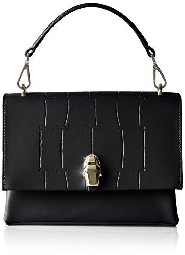 Cavalli  Panthera 002, sac bandoulière femme - noir - Schwarz (Schwarz (Black)), 8x15x20 cm (B x H x T)