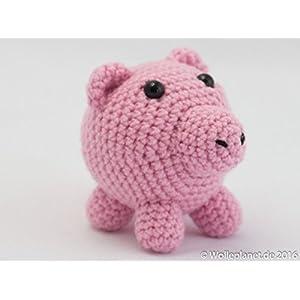 Glücksschwein in liebevoller Handarbeit gefertigt