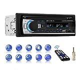 Autoradio Bluetooth Main Libre, CENXINY Radio Voiture avec télécommande, Lecteur MP3, Prise en Charge de Carte TF USB Double...