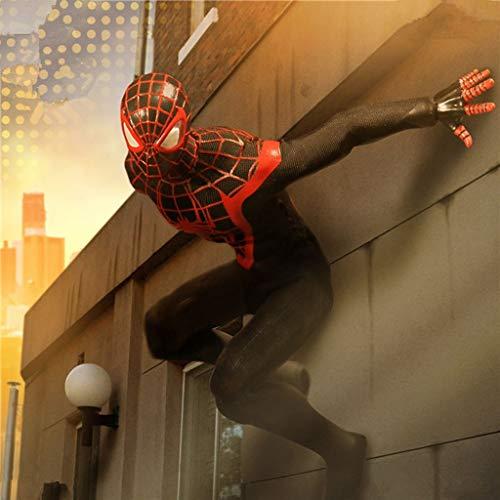ZHPBHD MEZCO Ameise zweite Spiderman-Modell Puppe Figur Animation ()