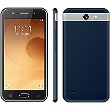 Móviles y Smartphones Libres, Teléfono Móvil Libre y sin Bloqueo de SIM Baratos,5.0 Pulgadas HD IPS,Android 6.0 MTK6580 Procesador Quad Core MTK6580 1,3 GHz Dual SIM / Dual Standby,1GB RAM & 4GB ROM 2G/3G & GSM/WCDMA Beauty Cámara 5.0Mp GPS