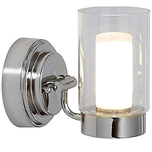 Poliertes Nickelglas Led Klassisches Minimalistisches Badezimmer, Das Korridorbeleuchtung Ankleidet -