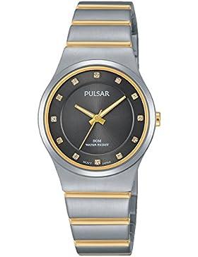 Pulsar Damen-Armbanduhr Analog Quarz Edelstahl PH8171X1