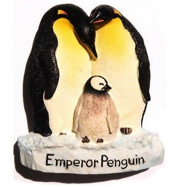 emperor-penguin-antarctica-new-zealand-3d-resin-toy-fridge-magnet-free-ship
