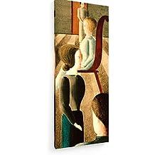Oskar Schlemmer - grupo que se sientan - 40x100 cm - Impresiones sobre lienzo - weewado - Muro de arte - Antiguos Maestros