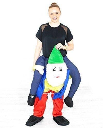 Carry Ride Me Oktoberfest Costume Bavarian Beer Guy Teddy Mascot Trag mich Verkleidung Kostüm Shoulder (Kostüm Gnome Halloween Baby)
