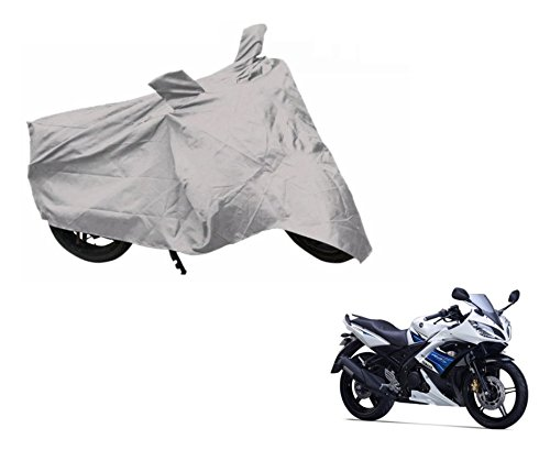 Auto Hub Silver Matty Bike Body Cover For Yamaha YZF R15 S  available at amazon for Rs.299