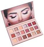 Leeharu Eyeshadow Eye Shadow Palette Matte Glitter Pigment Texture Eye Shadow Beauty Makeup