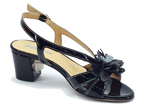 MELLUSO  K95412 Nero, Sandales pour femme Noir Nero Noir - Nero