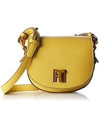 Tommy Hilfiger Damen Mid Leather Mini Umhängetasche, 3x6x6 cm