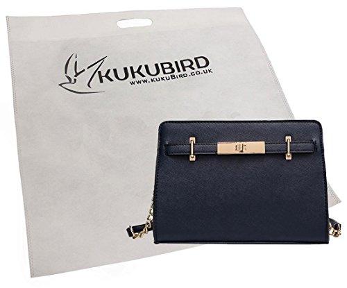 Borsa A Tracolla Con Sacchetto Raccoglipolvere Kukubird Fibbia In Oro Kukubird Finlay Gold