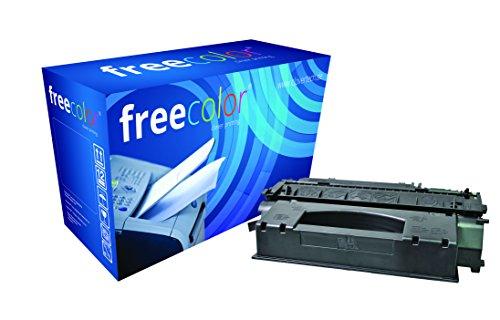 Preisvergleich Produktbild freecolor Q7553X für HP LaserJet P2015, Premium Tonerkartusche, wiederaufbereitet, 7.000 Seiten, 5 Prozent Deckung, BLACK