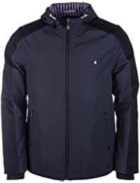 Gabicci Mens Zip Through Hooded Jacket