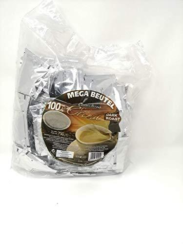 100 Kaffeepads im Megapack Grandioso Café Crema Dark Roast