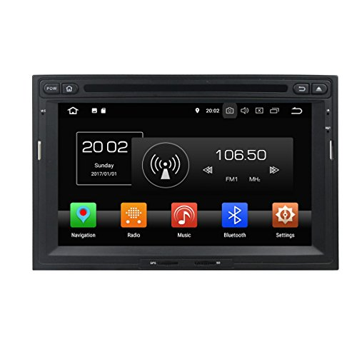 7 Zoll Touch Screen 2 Din Android 8.0 OS Autoradio für Citroen Berlingo 2010 2011 2012 2013 2014 2015 2016,DAB+ Radio 8 Core 1.5G Cortex A53 CPU 32G Flash und 4G DDR3 RAM GPS Navigation Radio DVD - 2014 Touchscreen Autoradio