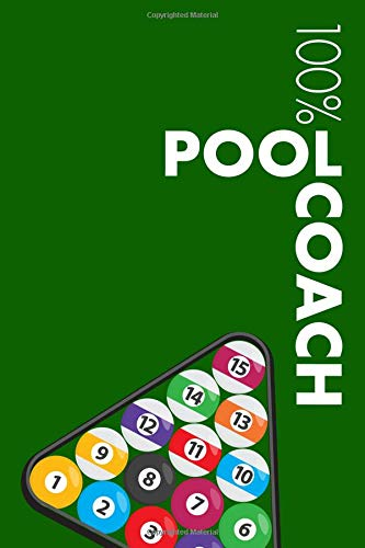 Pool Coach Notebook: Blank Lined Pool Journal For Coach and Player por Elegant Notebooks