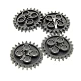 4 x Lego Technic Zahnrad neu-dunkel grau z24 Zahnräder Zähne Rad Technik 24505 3648