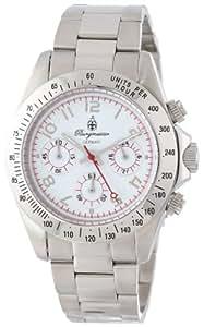 Burgmeister - BM212-181 - Montre Homme - Quartz - Chronographe - Chronomètre - Bracelet Acier inoxydable Argent