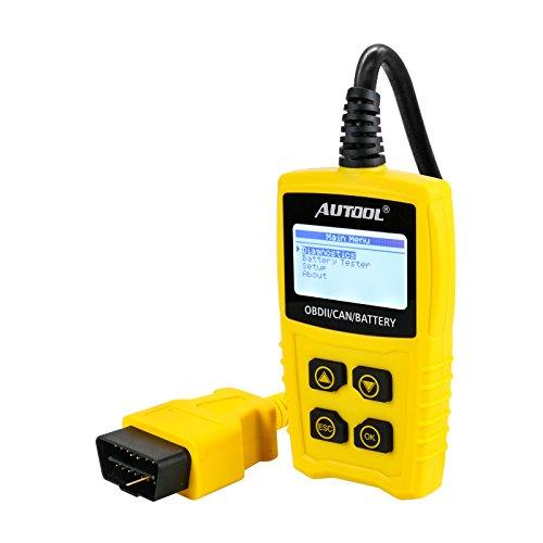 Auto Codeleser CS330 Scan für OBDII / EOBD / CAN Automotive Scanner Auto OBD2 Diagnose Tool Unterstützung Analysieren Autobatterie Spannung Genau - 2
