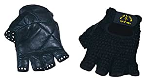 Gold's Gym Mesh Back Weight Lifting Glove - Black, Small