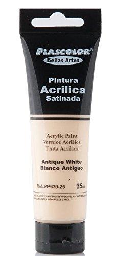 plascolor pp639-25-Acrylfarbe, 35ml, Antikweiß