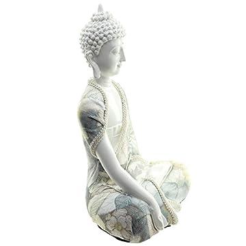 Decorativo floral Relajación figura decorativa de Buda 6
