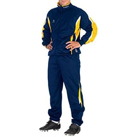 Masita Valencia 170012Chándal para Micro Q suave tracky Outfit amarillo Talla:15 años (164 cm)