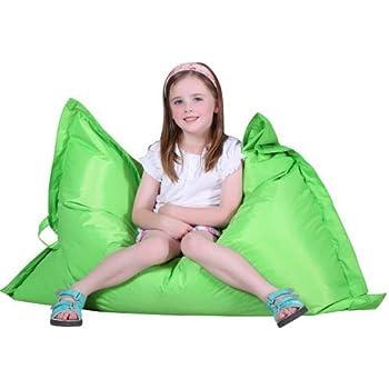 puregadgets kids giant pillow beanbag cushion for child teen bean bag sofa gaming available