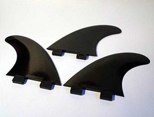 3er Set Surfboard Finnen / Thruster / FCS Fin System