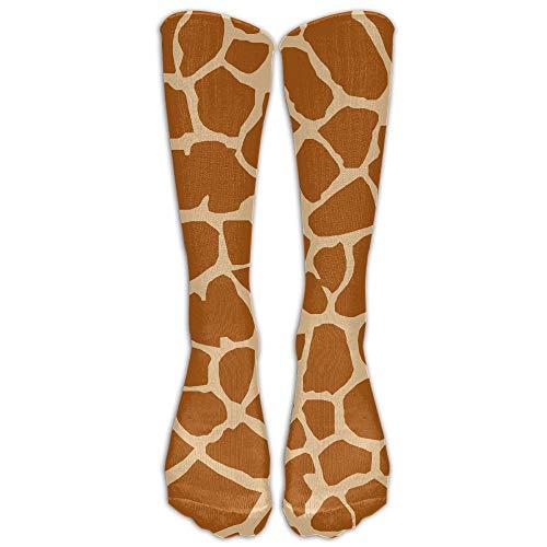 saibing Giraffe Skin Pattern Below High Socks Suits Women & Men Athletic Sports Socks Stocking