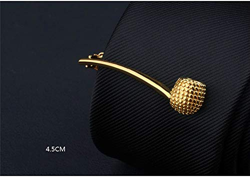 Creative Tobacco Pipe Shape Tie Clip Men's Custom Business Tie Clip