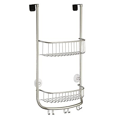 InterDesign Large Forma Shower Caddy, Satin