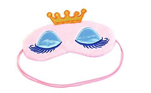 Mädchen Rosa 1 Stück (Augenmaske von Fablcrew Schlafmaske Schlafbrille Maske Entlasten Sie die Müdigkeit Reise-Augenmaske Rosa 1 Stück)