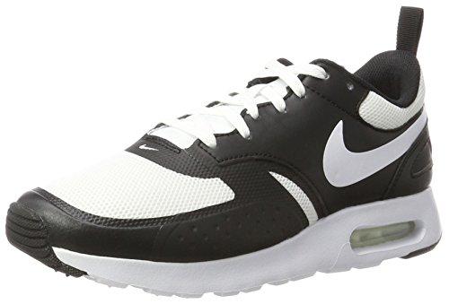 Nike Herren Air Max Vision Sneaker Elfenbein (White / White / Black)