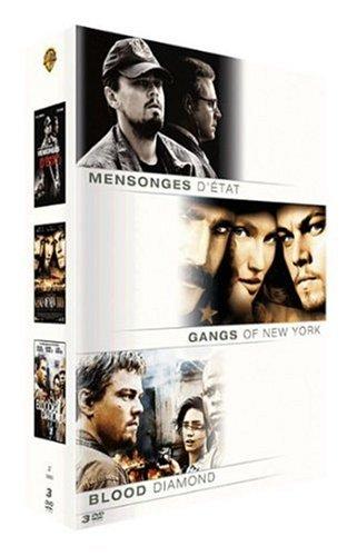 Coffret Leonardo di Caprio : Mensonges d'état, Gangs of New York, Blood diamond