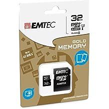 Emtec 8GB Mini Jumbo–Tarjeta de memoria microSDHC clase 10con adaptador